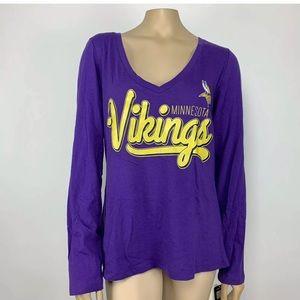 NWT NFL Team Apparel Minnesota Vikings Shirt